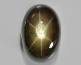 7.89 Cts NATURAL BLACK STAR SAPPHIRE LOOSE GEMSTONE