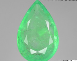 3.19 CTS NATURAL EARTH MINED GREEN COLOR COLOMBIAN EMERALD LOOSE GEMSTONE