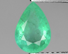 1.10 CTS NATURAL EARTH MINED GREEN COLOR COLOMBIAN EMERALD LOOSE GEMSTONE