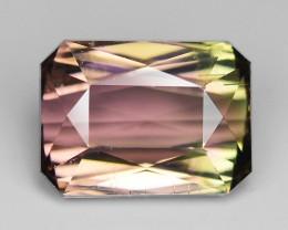 4.77 Cts Natural Bi Color Tourmaline Loose Gemstone