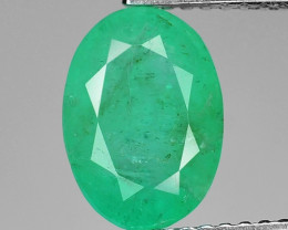 2.15 Cts Natural Earth Mined Green Color Colombian Emerald Loose Gemstone