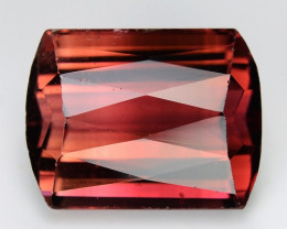9.20 Cts NATURAL PINK TOURMALINE CHECKERBOARD CUT LOOSE GEMSTONE