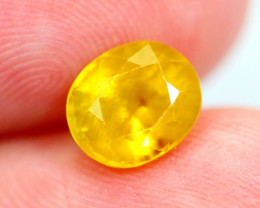 2.00cts Natural Yellow Colour Sapphire / JU514