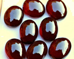 116.5 Tcw. Hessonite Garnet Cabochons 16 by 13 - Gorgeous