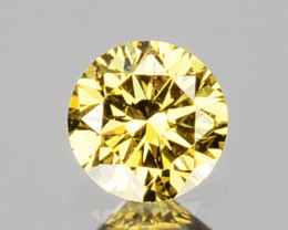 ~UNTREATED~ 0.08 Cts Natural Fancy Diamond Round Africa ~VS~VS2