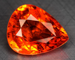 4.27 Cts Natural Spessartite Garnet Fanta Orange Red Loose Gemstone