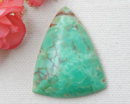52cts Chrysoprase For jewellery Chrysoprase Cabochons, Chrysoprase Loose Ge