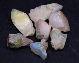 43.31Ct Multi Color Ethiopian Welo Gamble Rough Lot C2611