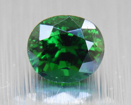 Natural Tsavorite Garnet, deep green 0.48ct ( 01434)