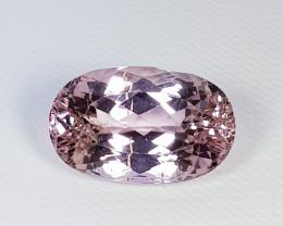 "9.60 ct "" Top Quality Gem "" Beautiful Oval Cut Natural Pink  Kunzite"