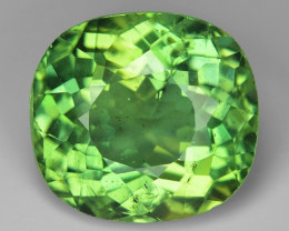 5.88 Cts Green Apatite ~ Awesome Color and Luster ~ AP13