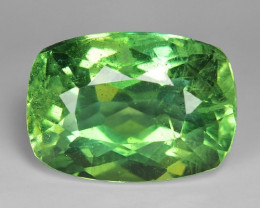 4.38 Cts Green Apatite ~ Awesome Color and Luster ~ AP20