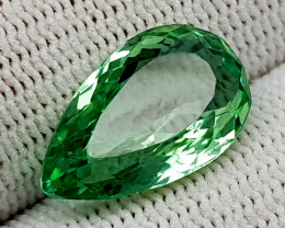 6.15 CT GREEN SPODUMENE BEST QUALITY GEMSTONE IIGC47