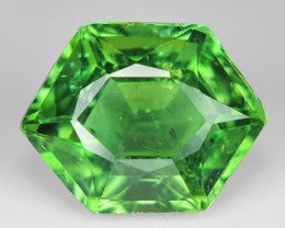 3..89 Cts Green Apatite ~ Awesome Color and Luster ~ AP24