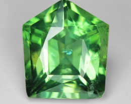 2.68 Cts Green Apatite ~ Awesome Color and Luster ~ AP25