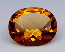 3.35 Crt Madeira Citrine Natural Gemstones JI35