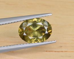 Natural Demantoid Garnet 2.19 Cts, Full Sparkle Faceted Gemstone