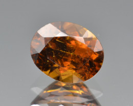 Natural Topazolite  2.25 Cts, Full Sparkle Faceted Gemstone
