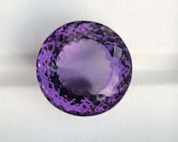 35.60 Carats Amethyst  Gemstones