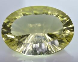 11.89 Crt Lemon Quartz Faceted Gemstone (R40)