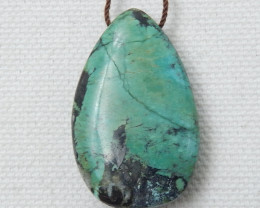 36ct Hot Sale Turquoise Water drop Pendant E24