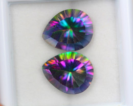 7.12ct Mystic Topaz Pear Cut Lot V4992