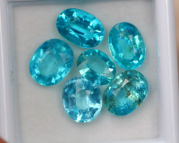7.76ct Paraiba Color Apatite Pear Cut Lot V4997