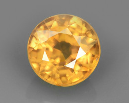 1.80 CTS ATTRACTIVE ULTRA RARE NATURAL ZIRCON ROUND EXECLLENT!!
