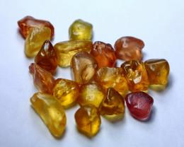 50.00 CT Natural - Unheated Mix Color Chrysoberyl Rough Lot