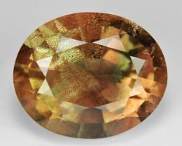 7.68 CT SUNSTONE OREGON RARE QUALITY GEMSTONE SN3