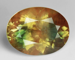 4.74 CT SUNSTONE OREGON RARE QUALITY GEMSTONE SN8