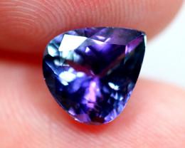 2.11cts Violet Blue D Block Tanzanite / BIN170