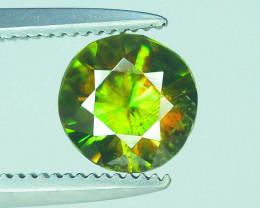 AAA Color 0.65 ct Chrome Sphene from Himalayan Range Skardu Pakistan