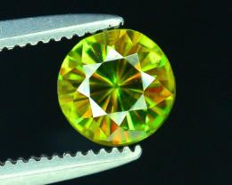 AAA Color 0.45 ct Chrome Sphene from Himalayan Range Skardu Pakistan