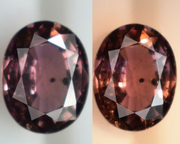 Natural Color Change Garnet - 1.50 ct