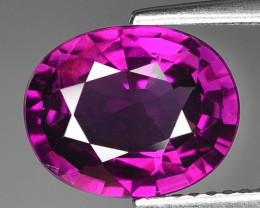 Rare 3.84 Cts Gorgeous Color Royal Purple Garnet  ~ Mozambique PG1
