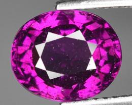 Rare 3.63 Cts Gorgeous Color Grape- Purple Garnet  ~ Mozambique PG5