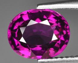 Rare 3.56 Cts Gorgeous Color Grape- Purple Garnet  ~ Mozambique PG7
