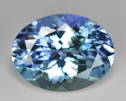 1.80 Cts Tanzanite Faceted Gemstone Gorgeous Cut ~ TN5