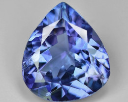 1.72 Cts Tanzanite Faceted Gemstone Gorgeous Cut ~ TN7