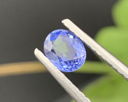 """GRA"" Certified 1.04 Carats Natural Sapphire Top Quality"