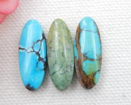 Oval Turquoise ,Handmade Gemstone ,Turquoise Cabochons ,Lucky Stone E45