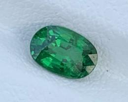 0.78 Carats Tsavorite  Garnet Gemstones