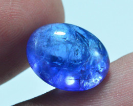 AAA Color 9.70 ct Tanzanite Cab eye catching Color~AS