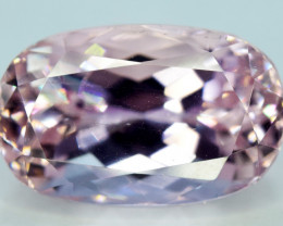 NR Auction 9.50 Carats Top Quality Pink Color Kunzite Gemstone