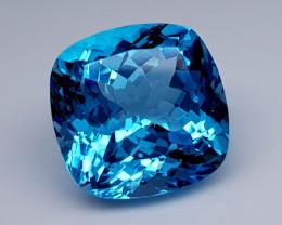 24 Crt Blue Topaz Natural Gemstones JI36