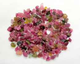 200 Ct Multi Color Tourmaline From Madagascar