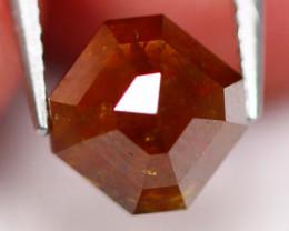 0.85Ct Natural Orange Rose Cut Diamond D2915