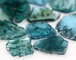 1.80Ct Natural Fancy Blue Slices Color Diamond Lot BM204