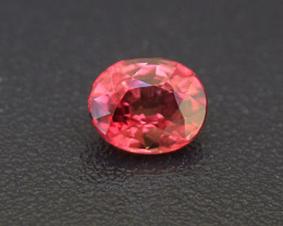 Unheated Padparadscha Sapphire 0.62 ct (01632) (Setting Sun Colour)